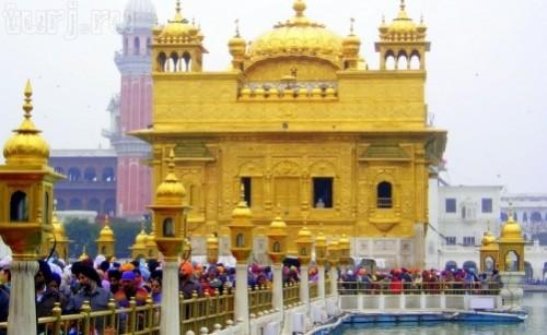 The Golden Temple Harmandir Sahib in India