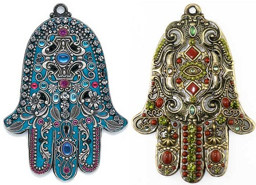The Wall Hamsa by Jewish artist and jewelry designer Michal Golan