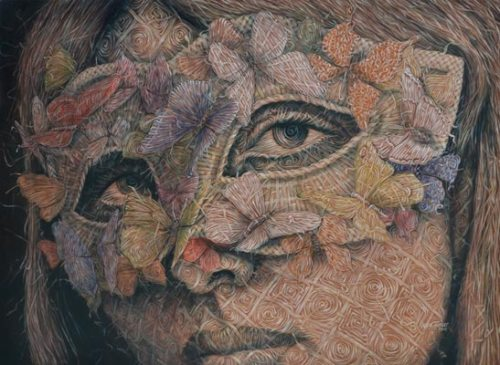 Woven Paintings of Alexi Torres