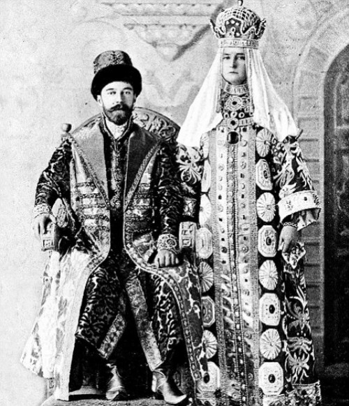 The last Emperor of Russia Nicholas II most famous pearls