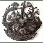 Beautiful tree of life - Haitian Metal Art