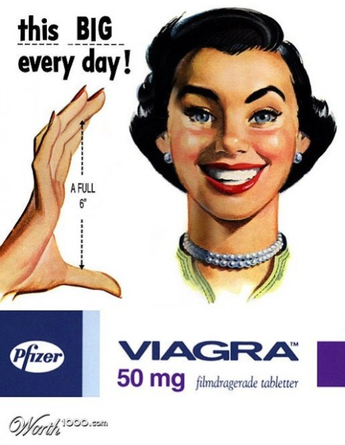This big every day. Absurd Vintage Ads