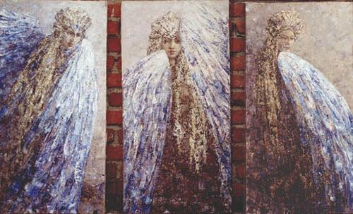 Triptych Alcon Sirin, Gamayun