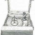 Typewriter art by Keira Rathbone