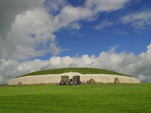 UNESCO World Heritage Site Newgrange