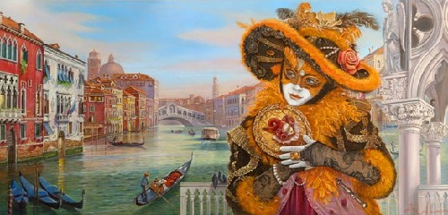 Venetian Fantasy by Alex Levin