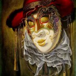 """From the """"Mask"""" collection. Venetian Fantasy by Alex Levin"""