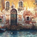 In the morning, Venice in painting by Cao Yong