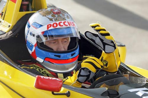 Vladimir Putin car racing