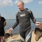 Diving, Vladimir Putin