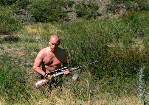 Vladimir Putin is cooler than James Bond