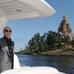 president Vladimir Putin on the yacht