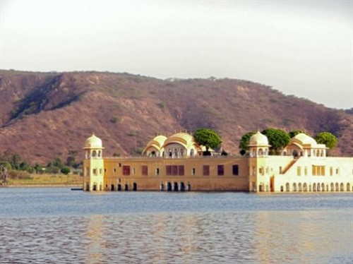 Water Palace Jal Mahal in India