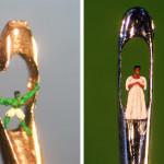 Incredible micro-sculptures by British artist Willard Wigan