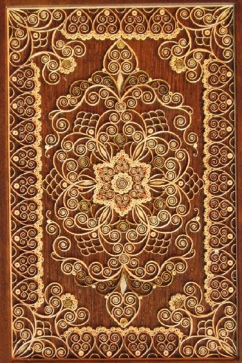 filigranes en bois fait par l'artiste biélorusse Vladimir Tsekunov - Tsekunovka