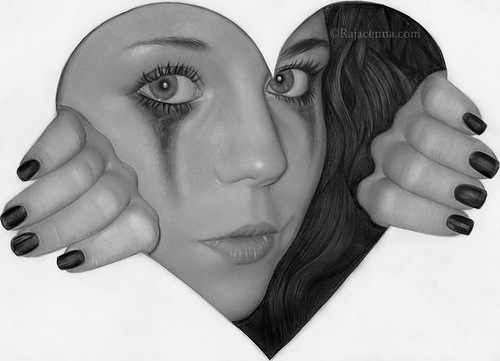 pencil drawing by Rajacenna