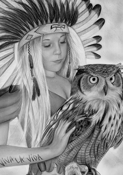 Hyperrealistic pencil drawing by Dutch self-taught artist Rajacenna