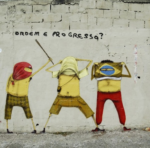 street art of Brazilian twins Os Gemeos