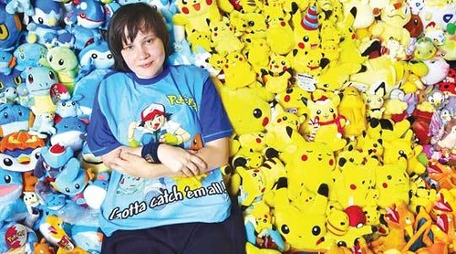 The largest collection of Pokemon memorabilia. Guinness records 2012 collections