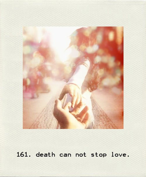 death can not stop love