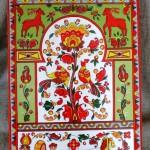 Folk painting on wood by Anna Selezneva