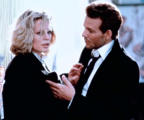 Kim Basinger and Mickey Rourke