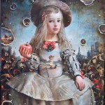 The world of childhood in paintings by Sergei Rimoshevsky