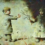 Traveling to the stars. The world of childhood in paintings by Sergei Rimoshevsky