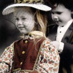 Inspirational romantic vintage photographs of children by German photographer Kim Anderson