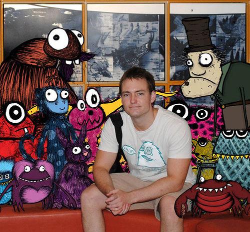 Australian artist Sean Avery