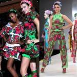 Based on traditional Russian motif fashion designs