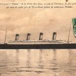 Giant Titanic retro postcard