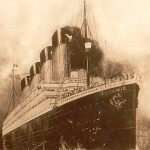 The ill-fated Titanic