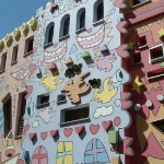 Unique House created by American pop artist James Rizzi (October 5, 1950 – December 26, 2011)