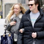 Canadian American actor Jim Carrey and his Russian girlfriend beautiful 23-year-old student Anastasia Vitkina