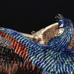 Laurel Roth's peacocks