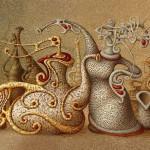 Fantastic realism in Boris Indrikov's art