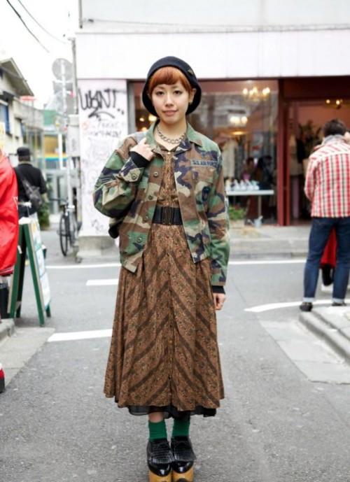 Passion for Fashion. Japanese Harajuku street fashion of Tokyo