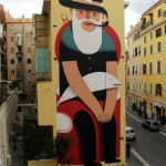 Beautiful street art by Italian artist Agostino Lacurci