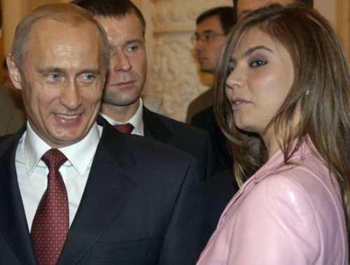 Russian politician Alina Kabaeva