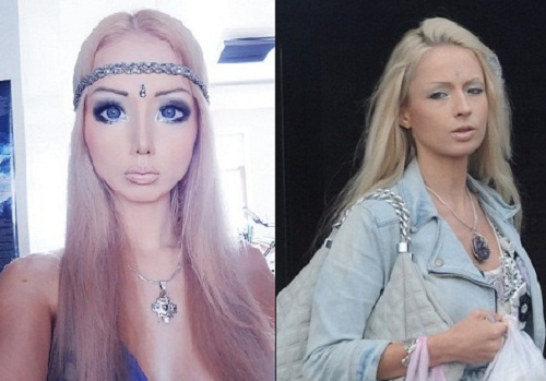 Valeria Lukyanova, born 23 August, 1985