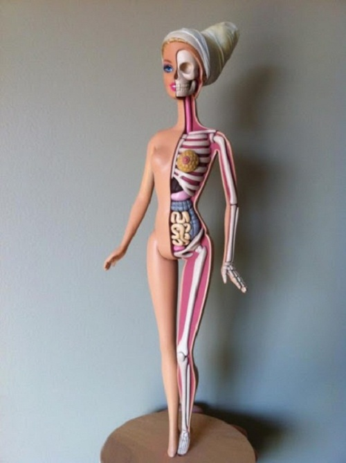 impossible to have Barbie's body