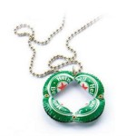 Bottle cap jewelry by Israeli designer Yoav Kotik