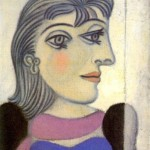 Pablo Picasso. Portrait of Dora Maar. 1936