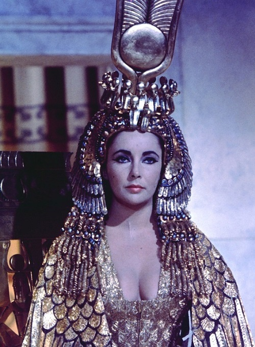 Elizabeth Taylor as Cleopatra, 1963 British-American-Swiss epic drama film directed by Joseph L. Mankiewicz
