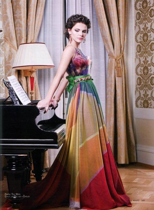 Russian actress Elizaveta Boyarskaya