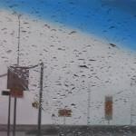 Outside the car window