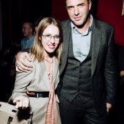 Happy together, Maxim Vitorgan and Ksenia