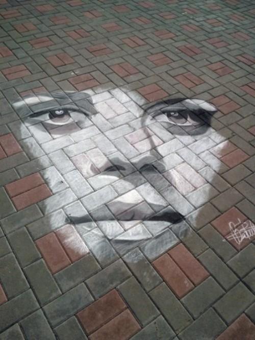 Chalk Masterpieces by Rustam Valeev