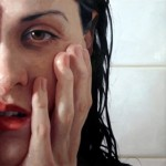 Hyperrealistic painting by American artist Alyssa Monks